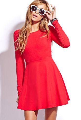 fa87d01f50e6 Casual Fit & Flare Dress | Spring/Summer Wear | Dresses, Fashion ...