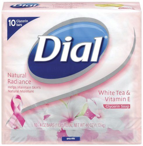 Dial White Tea And Vitamin E Glycerin Soap 4 Ounces Bars 10 Count Pack Of 2 By Dial 12 62 Natural Radiance Beauty Soap Best Natural Skin Care White Tea
