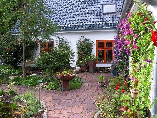 Cute Terrassenbelag f r Landhausgarten Seite Gartengestaltung Mein sch ner Garten online