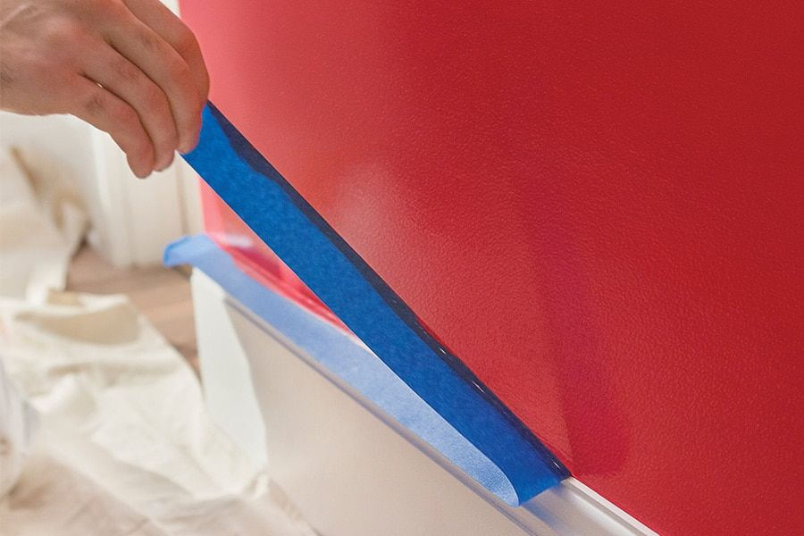 how to touch up wall paint chips