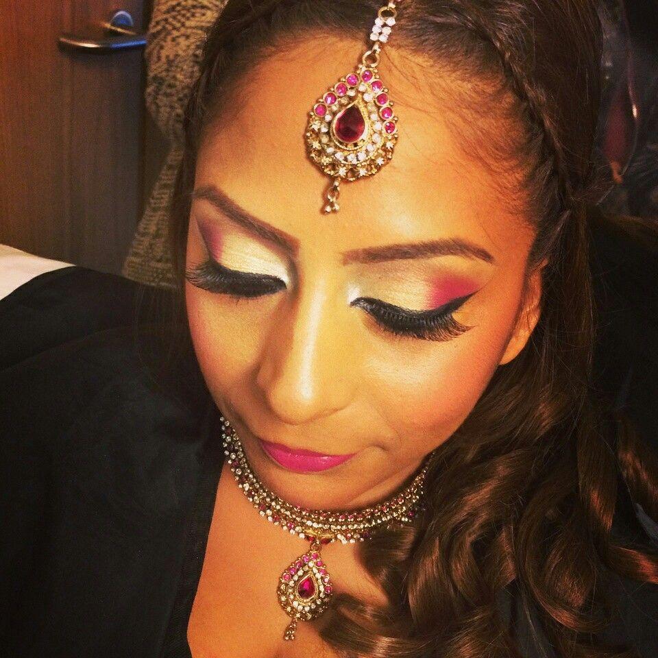Pink make up by Pinal MUA