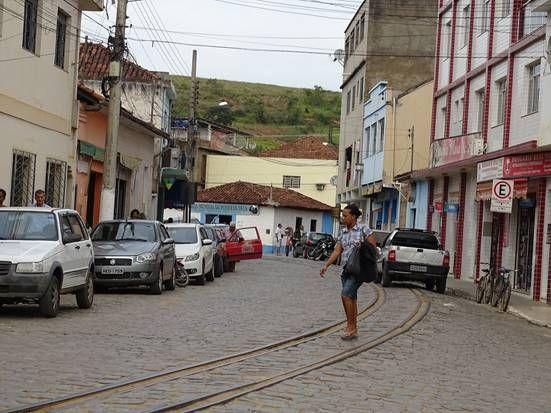 Recreio city, Minas Gerais, Brazil. Ferrovia Centro Atlantica. Photo Silvan Alves
