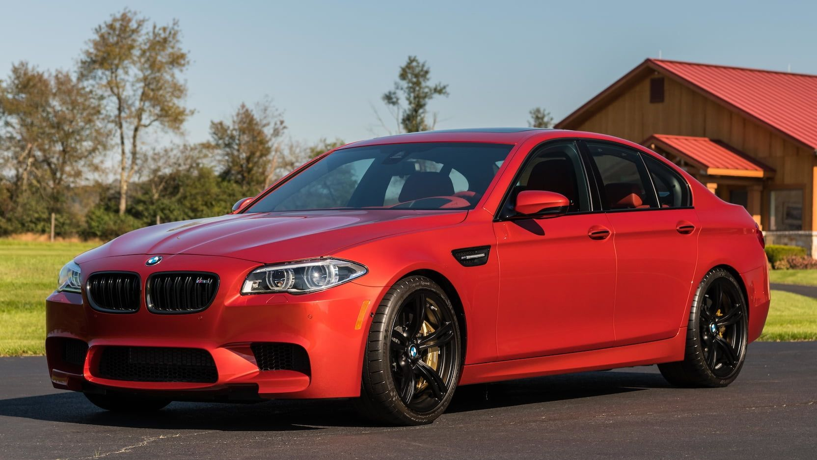 2014 Bmw M5 Sedan Presented As Lot S115 At Kissimmee Fl Bmw