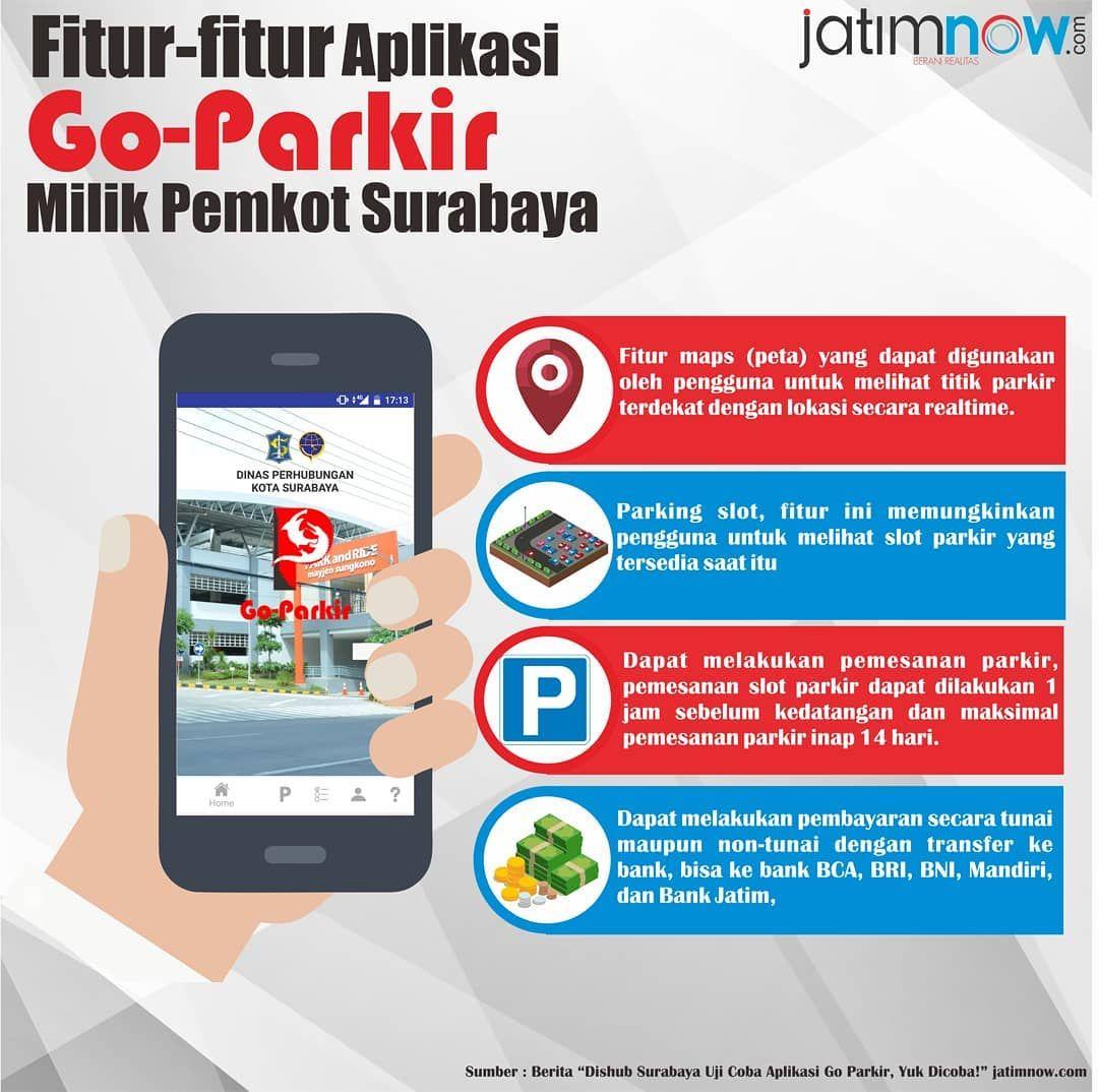 Dinas Perhubungan Dishub Kota Surabaya Mulai Melakukan Uji Coba Dan Sosialisasi Aplikasi Go Parkir Yang Dapat Memudahkan Para Pengendara Dalam Mencar Instagram
