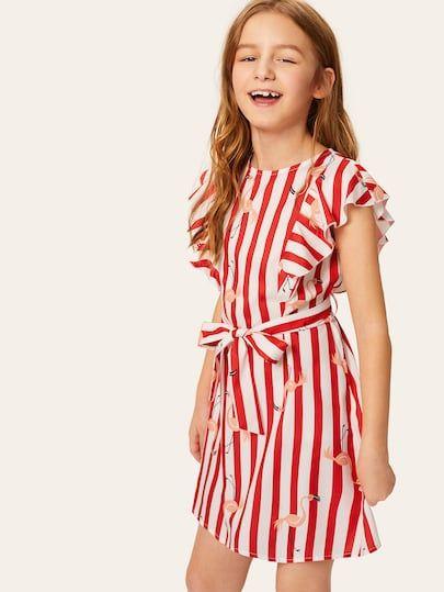 a1f14fa8e0df3f Mädchen Kleider   SHEIN   sachen   Kleider, Kleider online kaufen ...