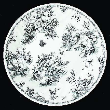 black toile dinnerware... I would love to collect these!  sc 1 st  Pinterest & black toile dinnerware... I would love to collect these! | For the ...