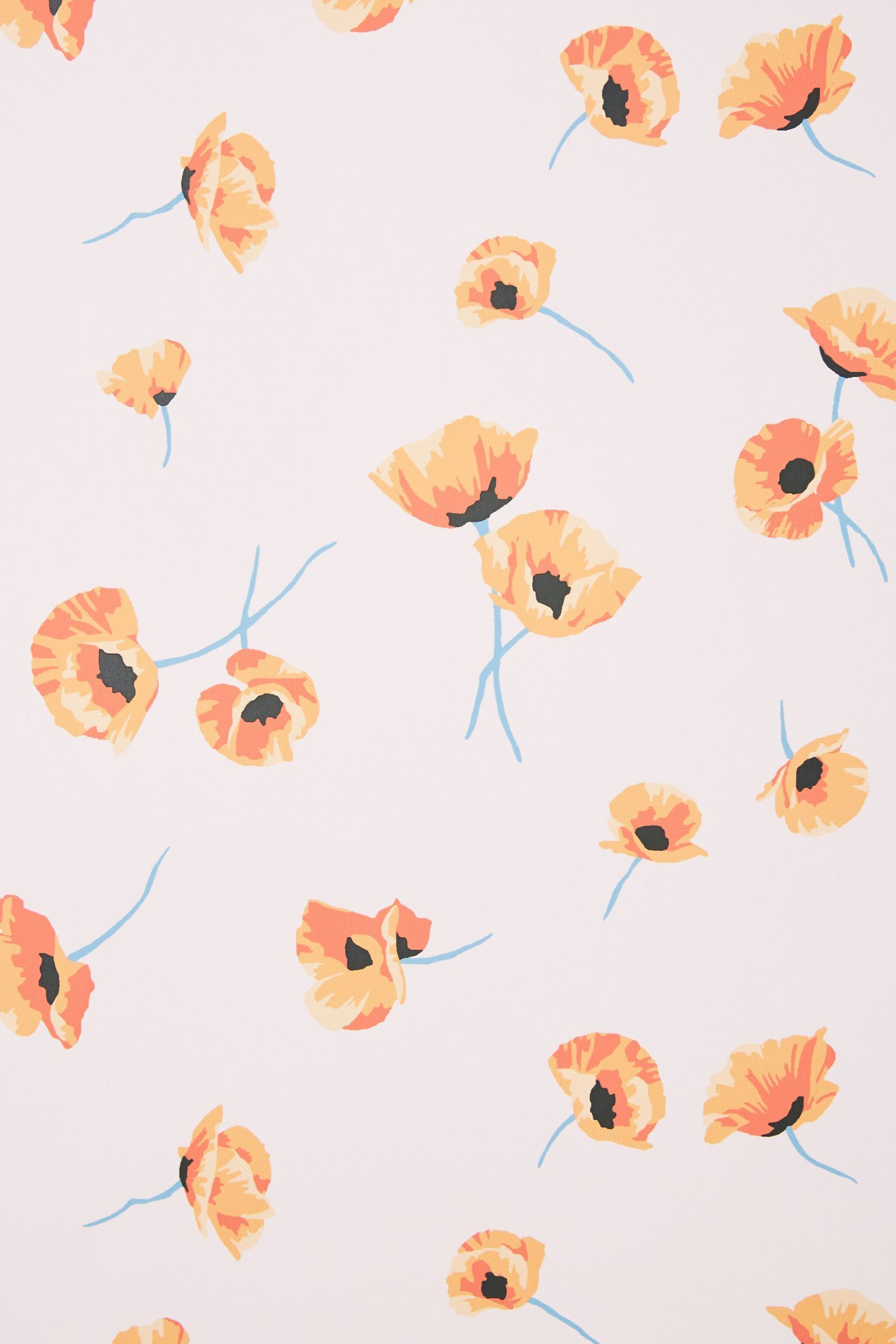Poppy Wallpaper | Anthropologie