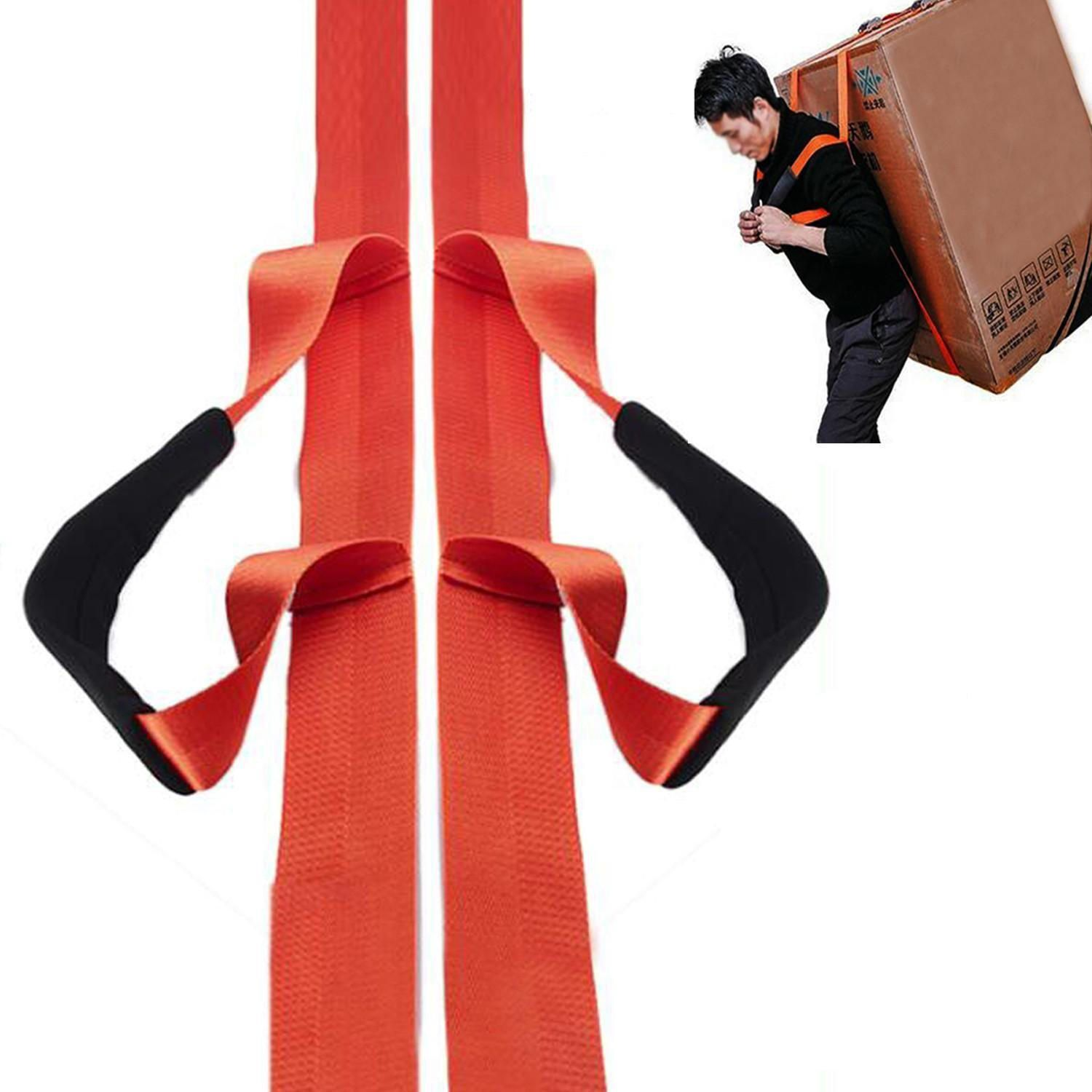 190ea2dffd7f 1 Person Furniture Lifting Moving Straps Carrying Belts Ergonomic ...