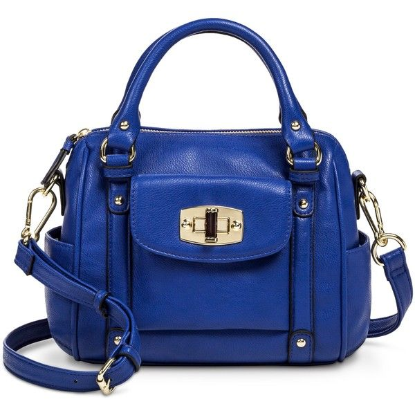 3532c0bd10 Merona Mini Satchel Handbag with Removable Crossbody Strap ( 35) ❤ liked on  Polyvore featuring bags