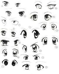 Anime Com April 2015 Anime Eye Drawing How To Draw Anime Eyes Girl Eyes Drawing
