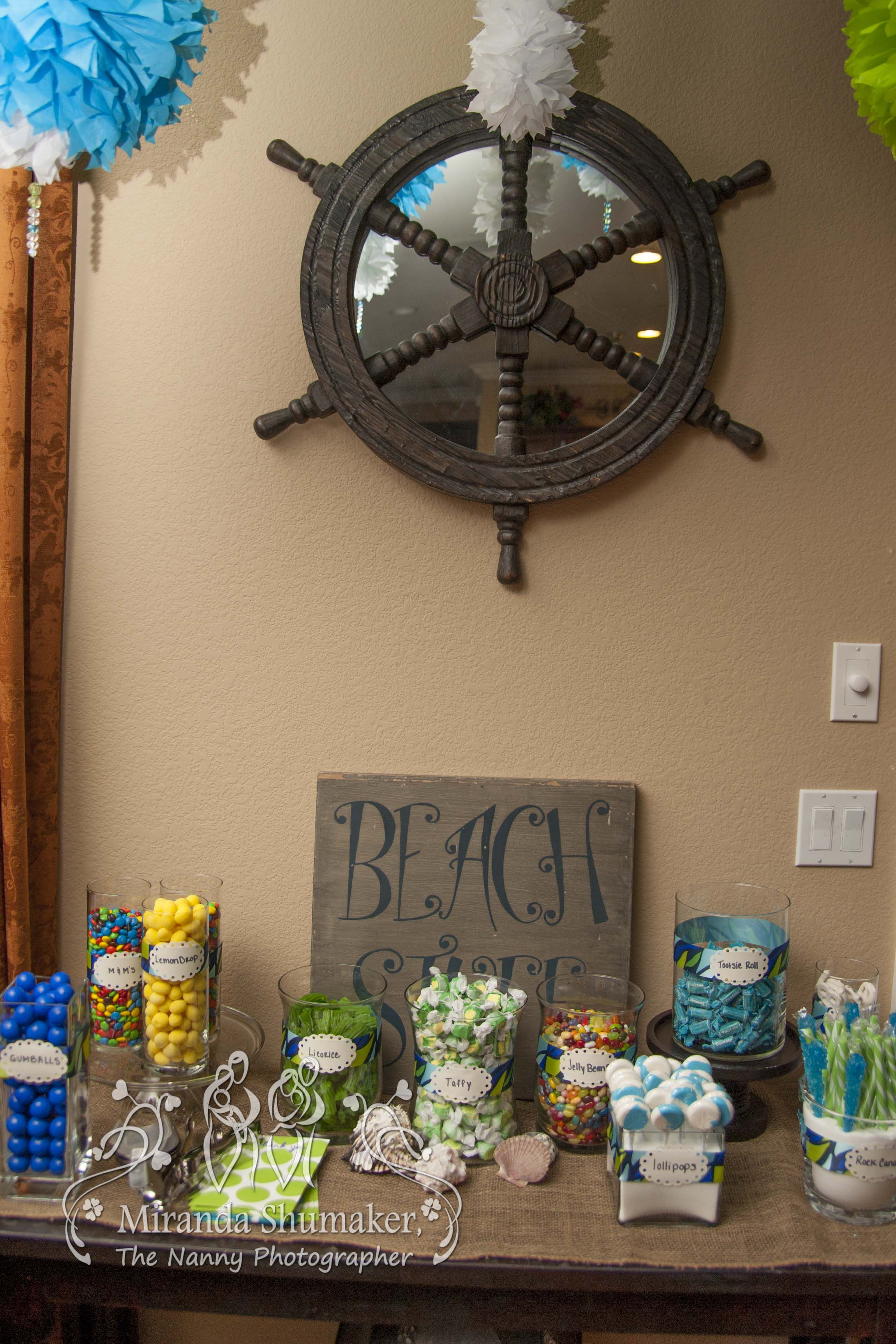 A Very Special Beach Themed Baby Shower. Theme Photo By The Nanny  Photographer