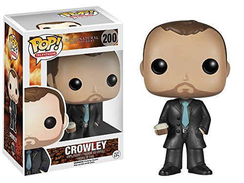 Crowley Brand New In Box POP TV Funko Supernatural