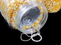 Make a hidden stash jar for hiding jewelry or money, etc