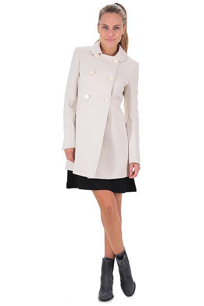 Kocca - Cappotti - Abbigliamento - Cappotto con chiusura a doppio petto e  tasche… b5b6ded3305