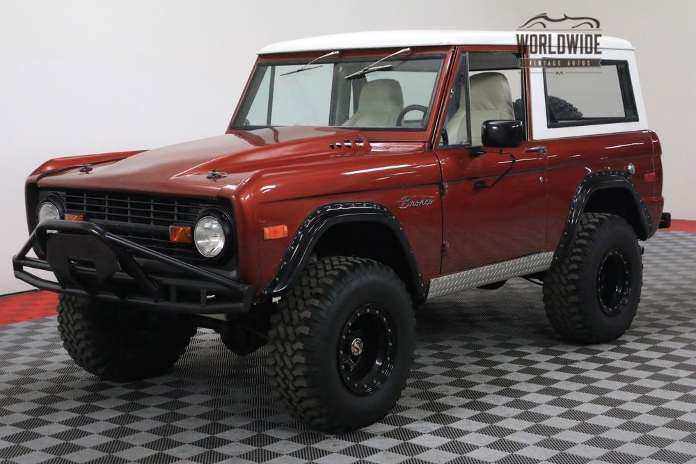 1976 ford bronco 4x4 ps front disc 302 v8 manual ford bronco rh pinterest co uk 1975 ford bronco manual 1978 Ford Bronco