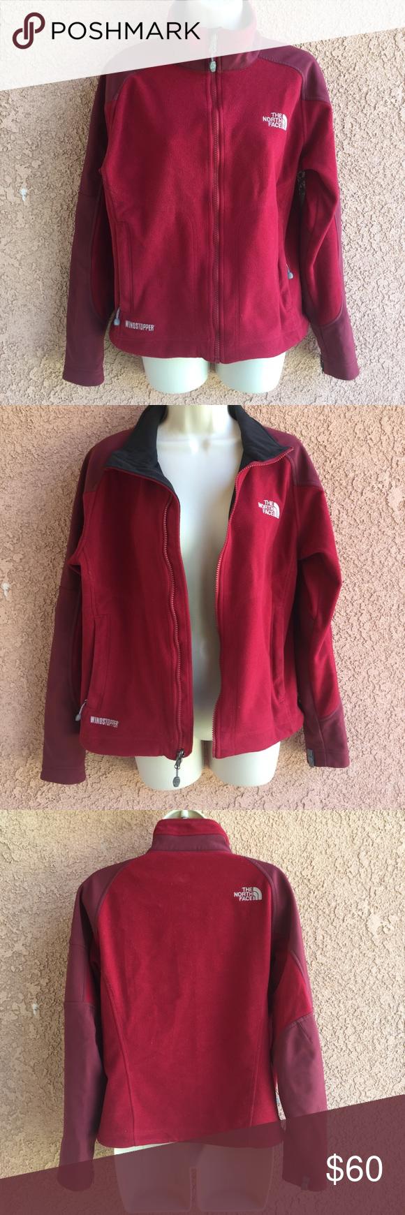 The North Face Fleece Jacket Windstopper Size S North Face Fleece Jacket North Face Jacket Womens Fleece Jacket [ 1740 x 580 Pixel ]