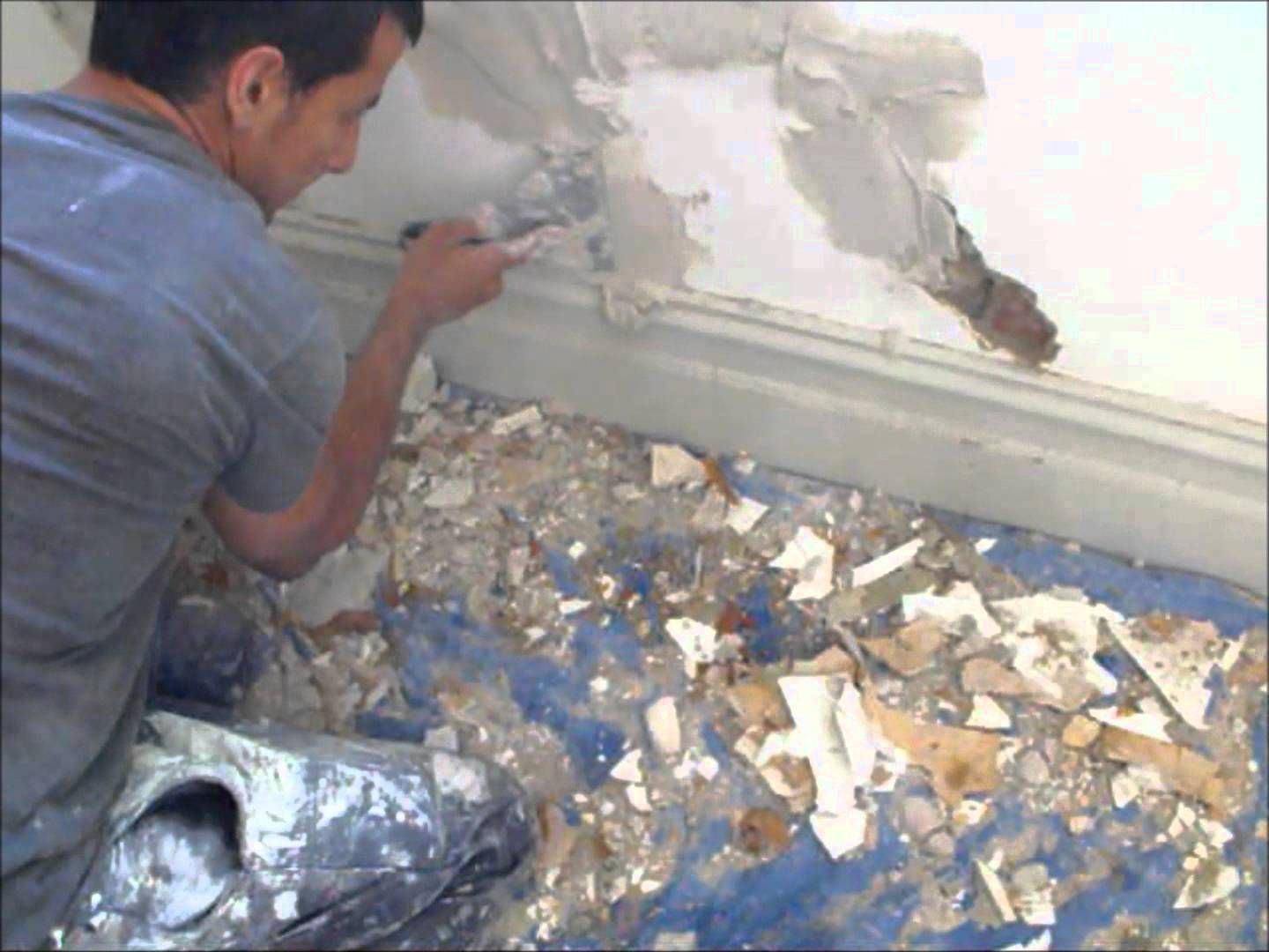 How To Repairs S In A Solid Plaster Wall Walls