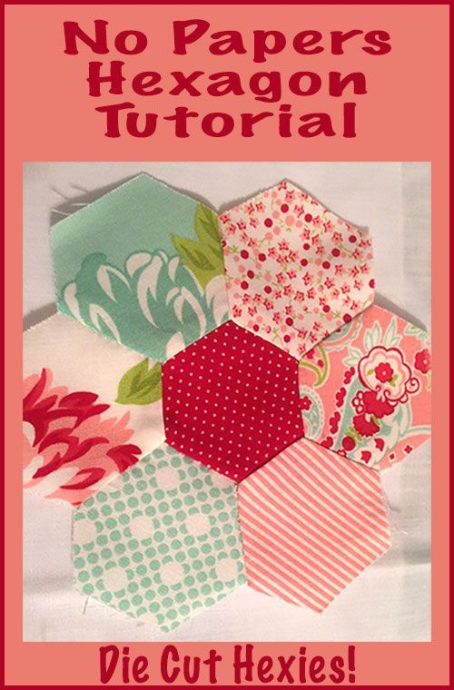 No-papers-hexagon_tutorial #Quilting