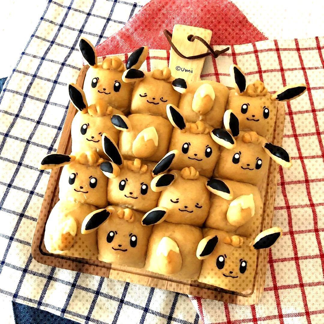 Pokemon bread made byumi0407 -