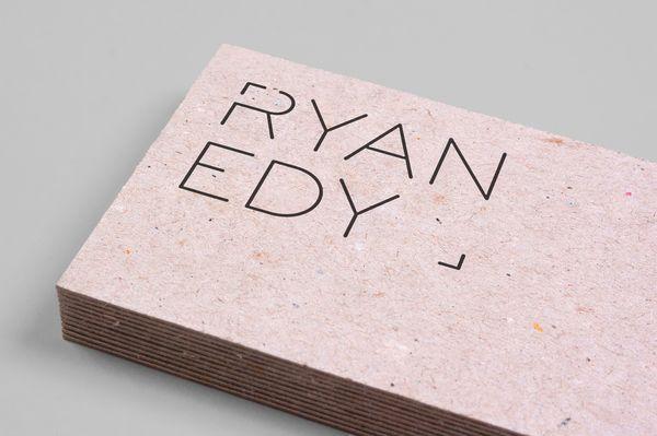 Branding Ryan Edy Business Cards Graphic Design Business Card Business Card Design Business Cards Creative
