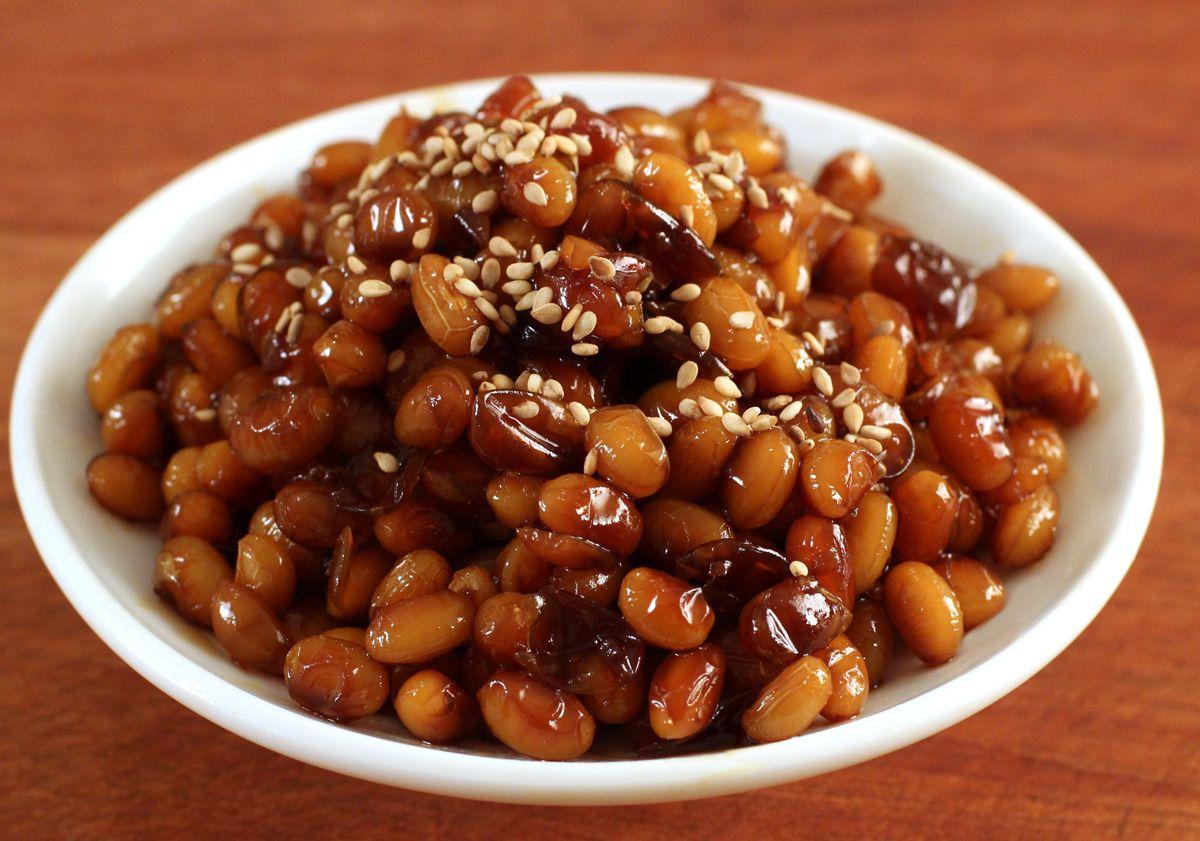 KOREAN RECIPES | Soybean side dish / 콩장, 콩조림 / Kongjang, kongjorim (or kong ...