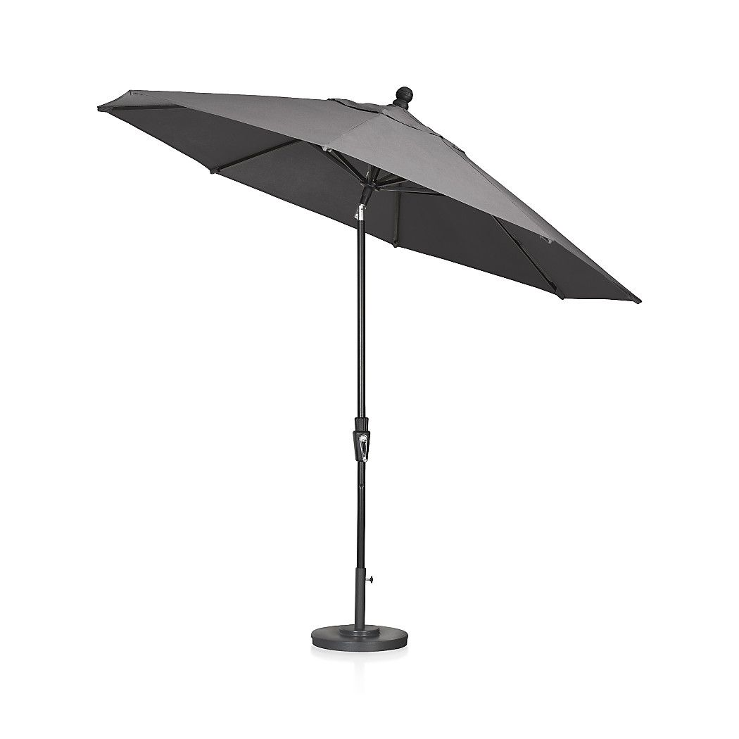 get out of the sun and into the shade with sunbrella patio umbrellas from crate and barrel browse a variety of sizes colors and finishes order online - Sunbrella Patio Umbrellas