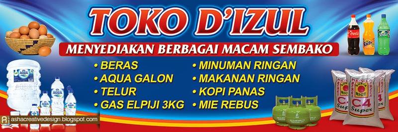 Banner Toko Sembako Dan Pulsa In 2020 Banner Best Banner Design Banner Design