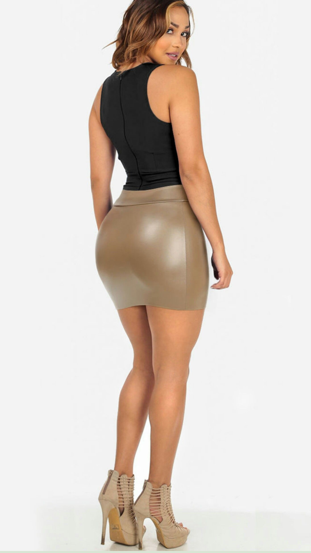 Mini Cheeky club skirts ass dress party