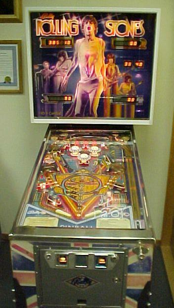 1980 Bally Rolling Stones Pinball Pinball Arcade Games