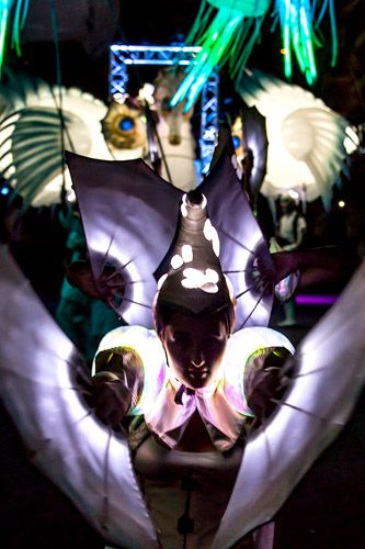 The lighting sea parade | Walk around acts | Others | Performers | Entertainment Agency | Corporate Event Entertainment