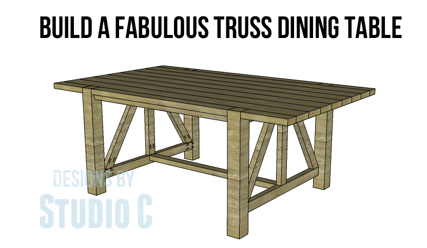 The Castleton Dining Table Plans Will Help You Create A