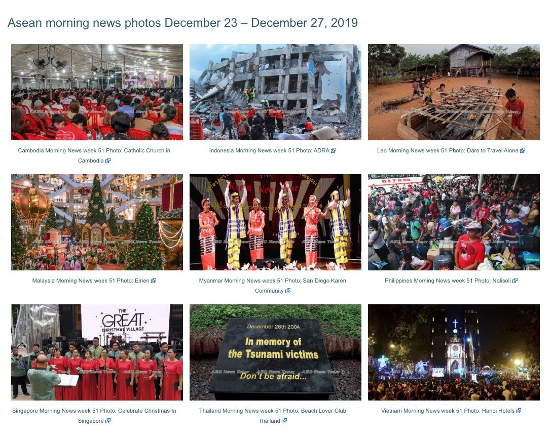 Our country morning news feature photos this week focus