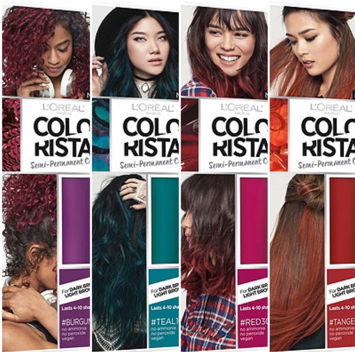 5338ca0f2c4 Colorista washout hair paint by L'Oréal available in Sephora Hair Color  Brands, Burgundy