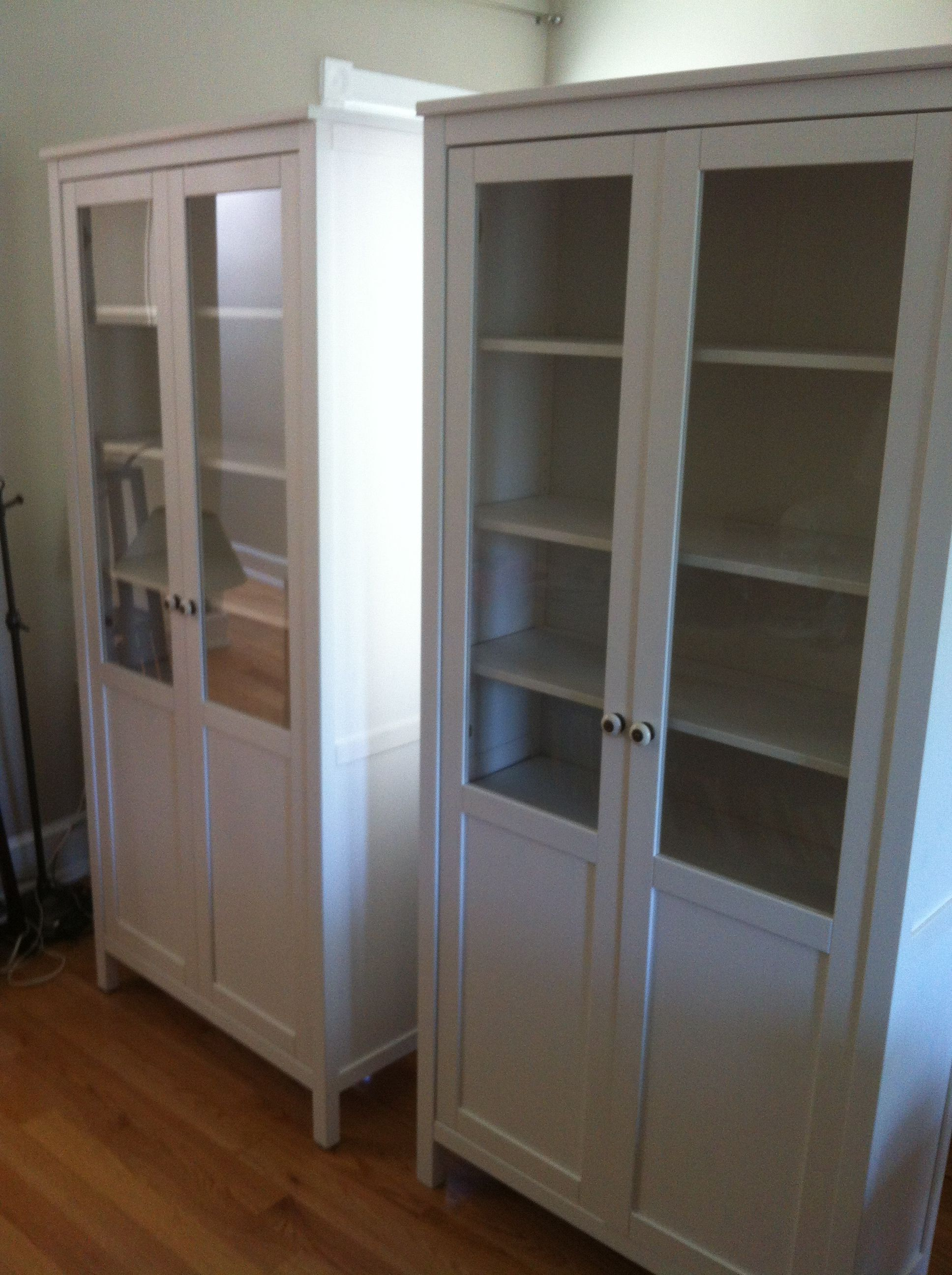 Ikea Hemnes Cabinet With Doors Assembled In New York City
