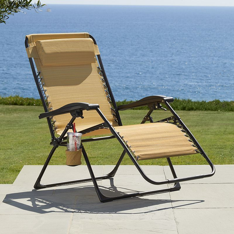Sonoma Goods For Life Patio Oversized Antigravity Chair Chair