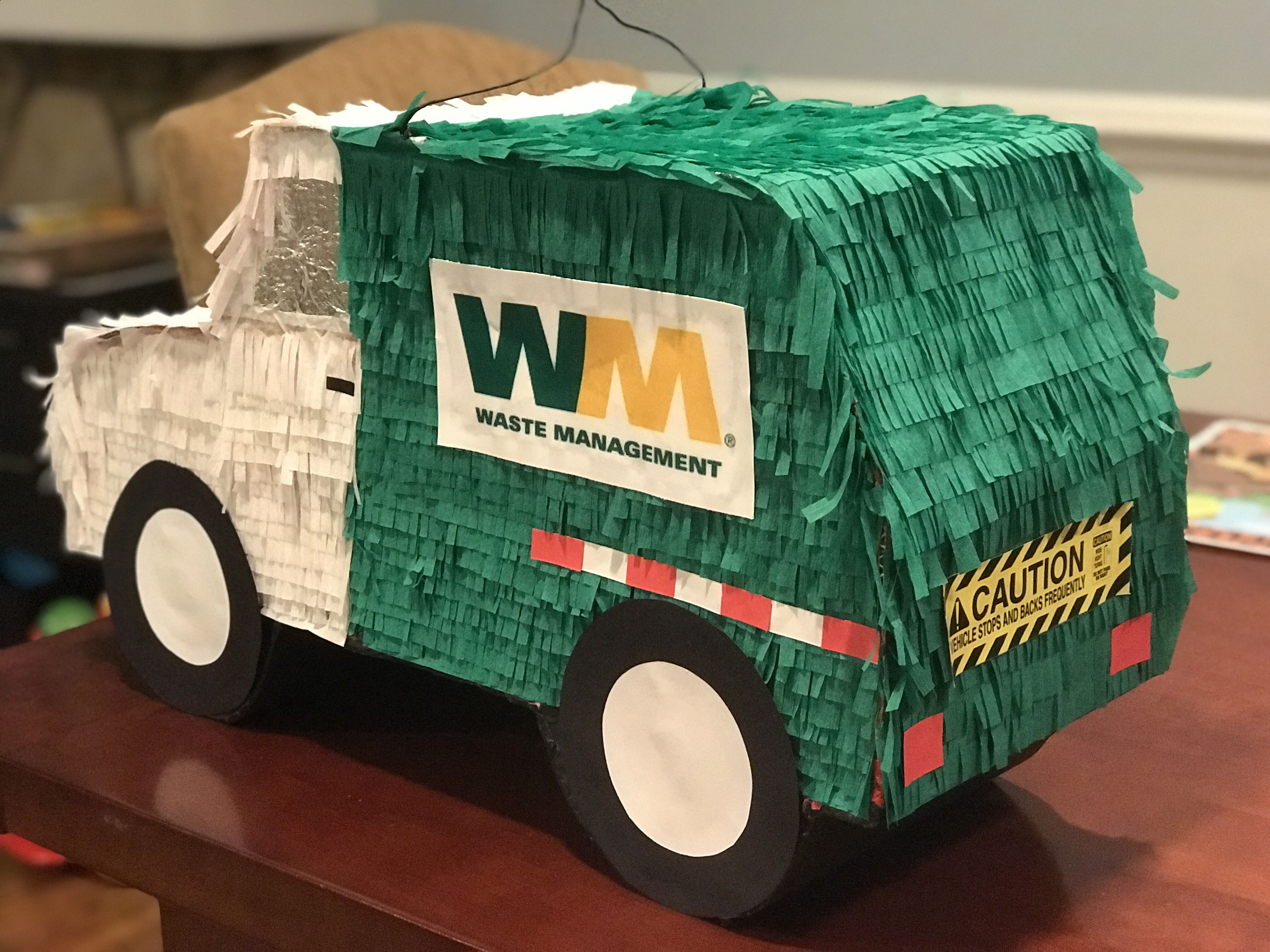 I Turned A Car Pinata Into A Garbage Truck Garbage Truck Party