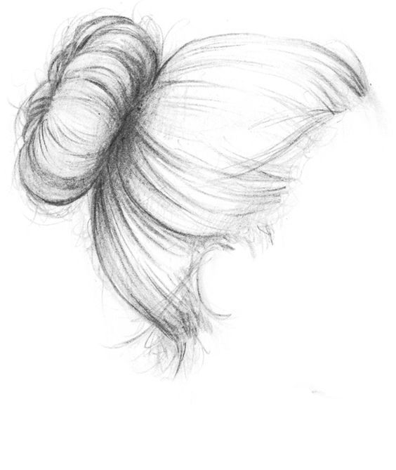 Draw hair. Visit my youtube channel to learn drawing and painting – indispensable address of art
