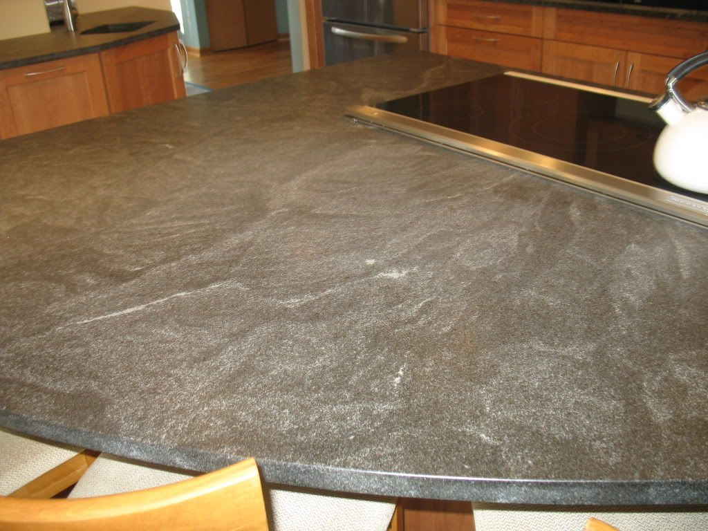Honed granite - who has it? | cabinet stain | Pinterest | Cabinet ...