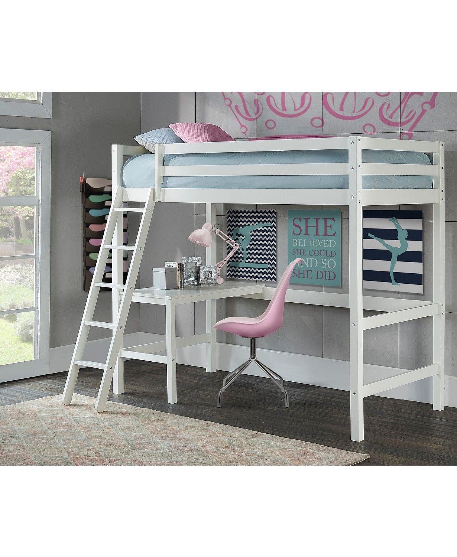 Hillsdale Caspian Twin Study Loft & Reviews Furniture
