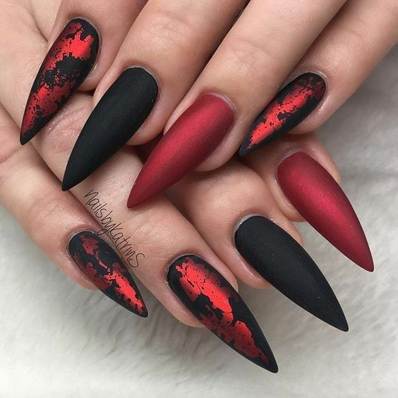 45 Charming Matte Nail Designs To Try This Fall Nail Designs Fall Matte Nails For Long Or Short Nails Ac Matte Nails Design Matte Nail Colors Gorgeous Nails
