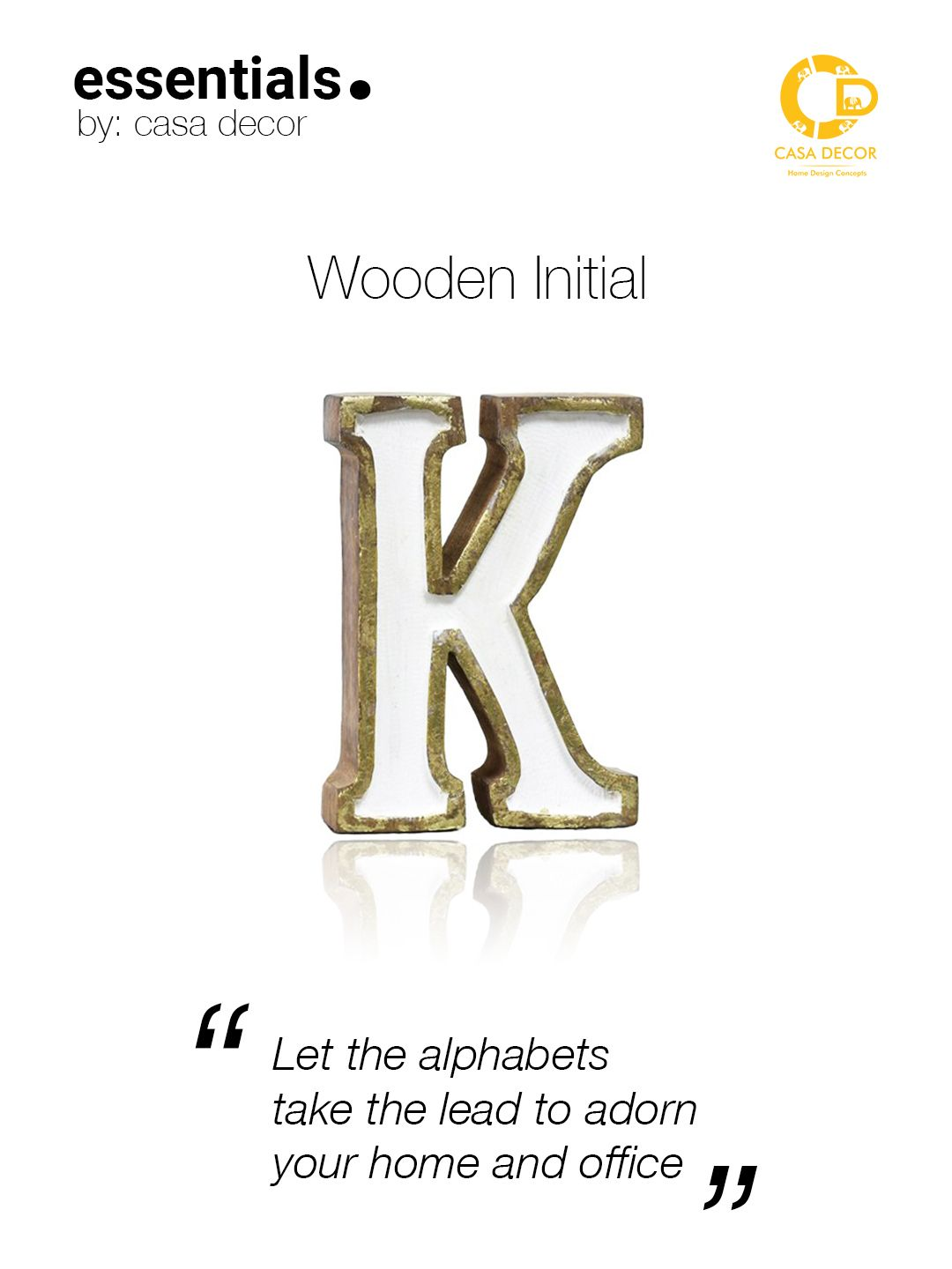 Pin By Casa Decor On Initials Home Decor Wooden Initials