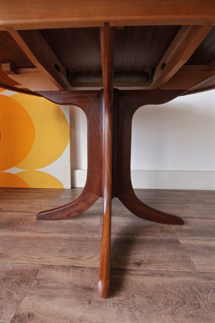 Retro Parker Knoll Dining Table