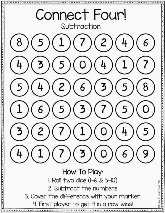 Games To Strengthen Math Skills 1st Grade Pinterest Build Math