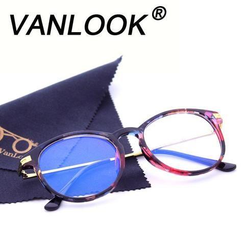 1ad2e2c587c Women Computer Glasses Round Transparent Eyeglasses for Men Spectacle Frame  Oculos Demodlilj
