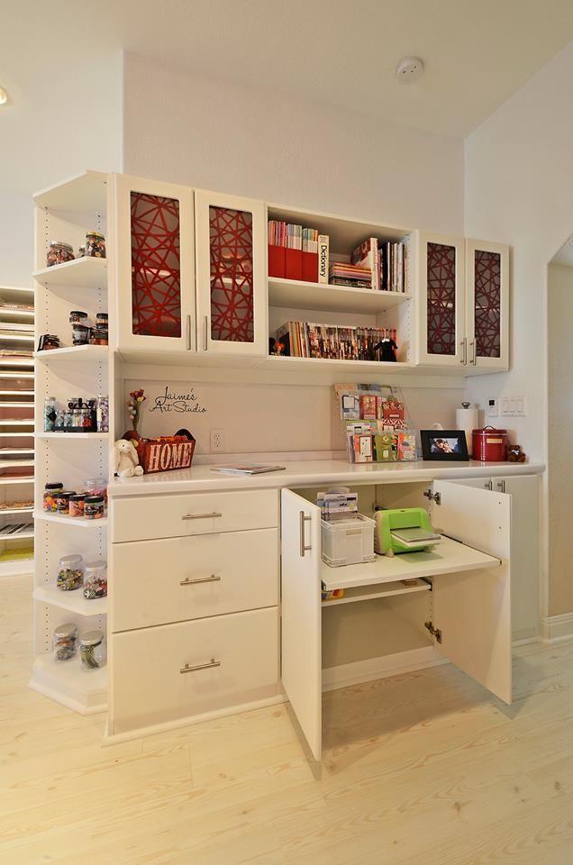 Craft Room California Closets Eco Resin Inserts 3form Doors