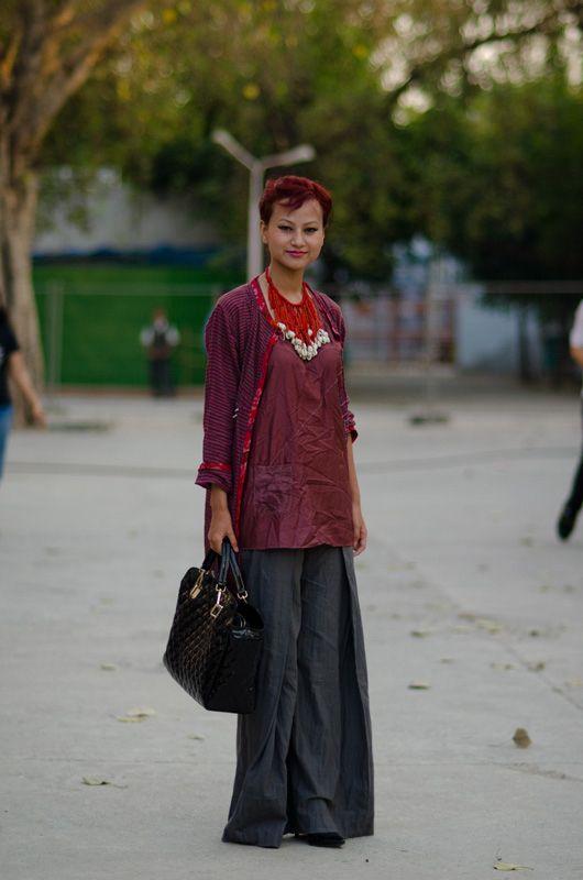 Street Fashion from Delhi!. Street Fashion from India Pinterest 62