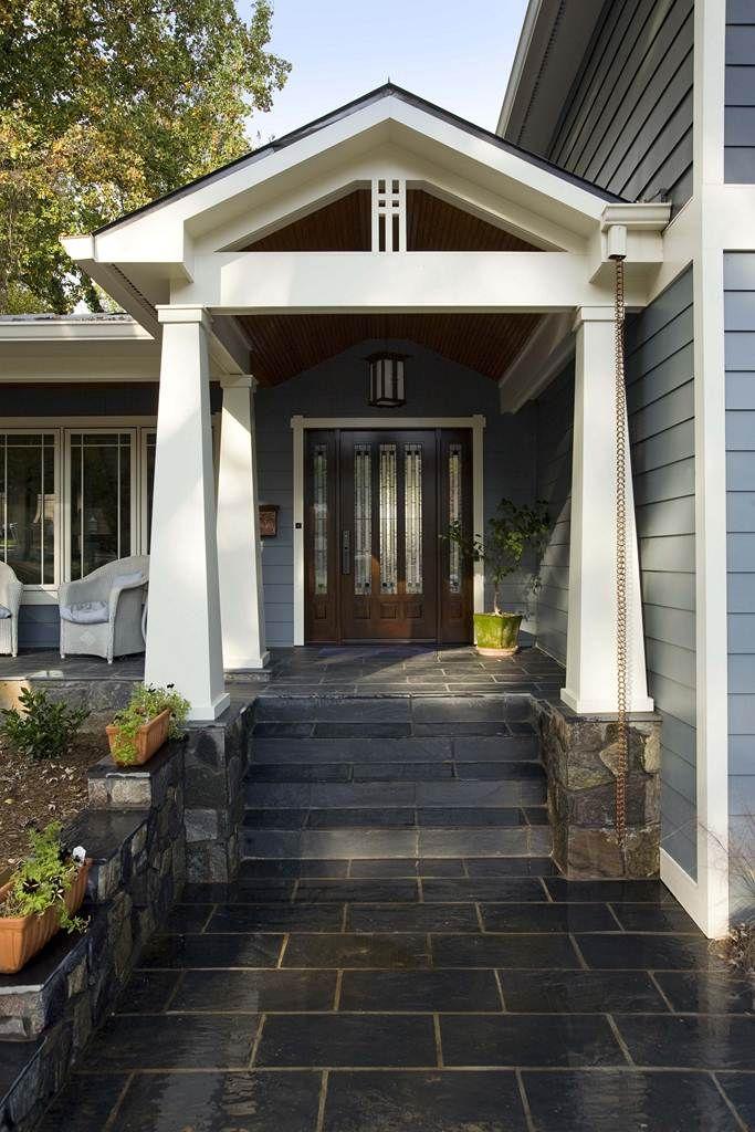 Craftsman Exterior Design Ideas Remodels Photos: Pin On Split Level Renovation Ideas