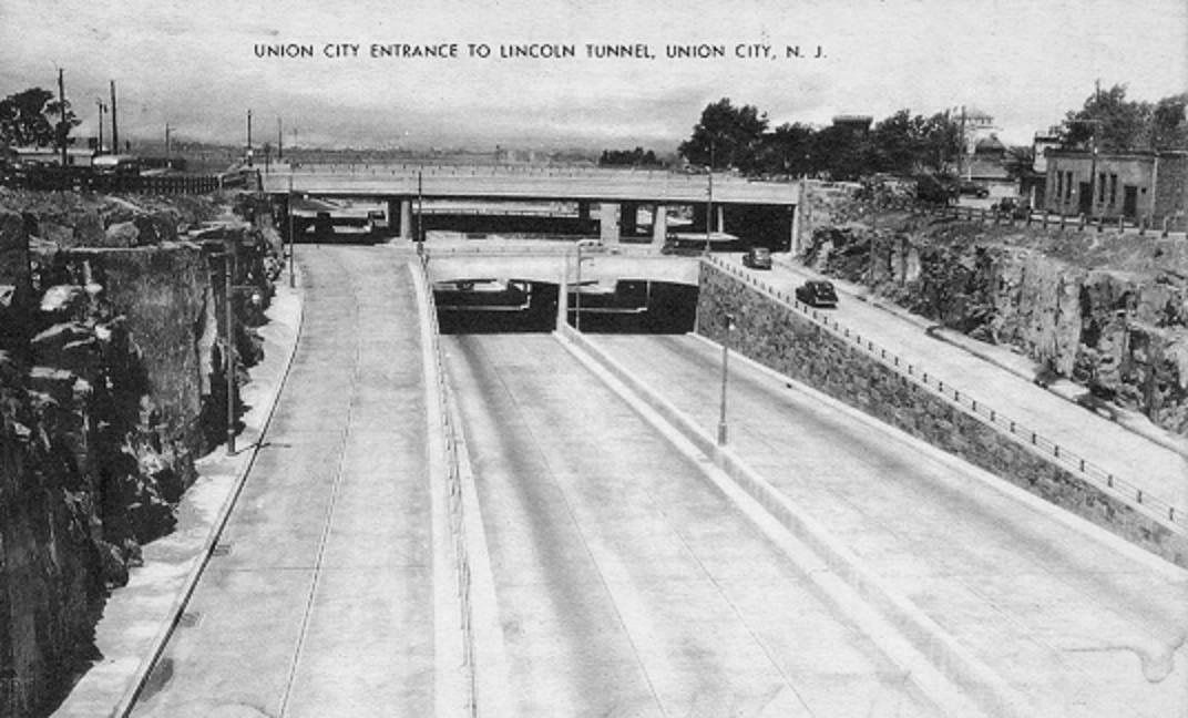 Lincoln Tunnel Entrance Union City Seaside Heights Nj City