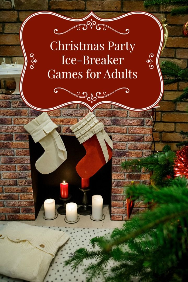 Christmas Ice Breaker Party Games for Adults Christmas