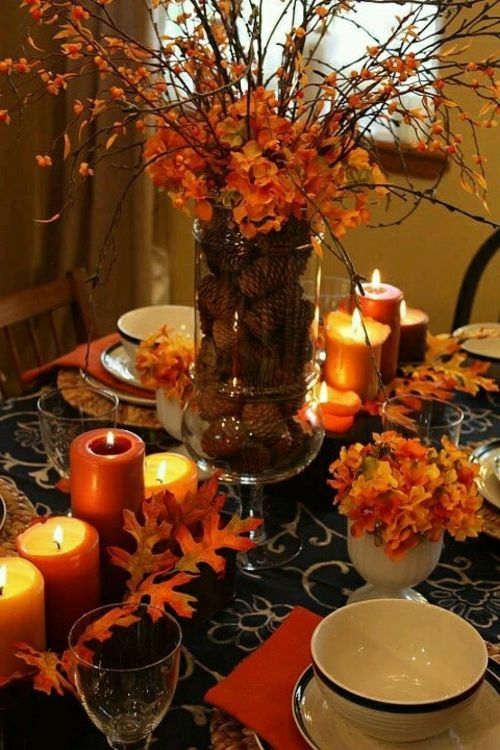 30 coole ideen f r tischdeko im herbst herbstdeko basteln deko tafel pinterest tischdeko. Black Bedroom Furniture Sets. Home Design Ideas